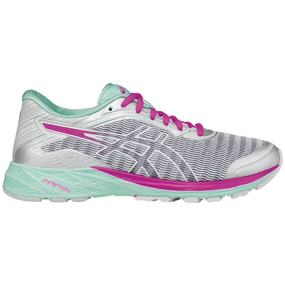 a3b14c1750f Tênis Asics DYNAFLYTE Feminino Cinza   Roxo - Keep Running Brasil - Keep  Running