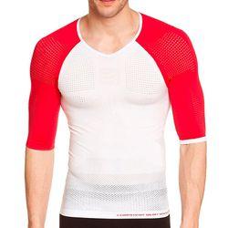Camisa-de-Compressao-On-Off-Manga-Curta-Branca-Vermelha-1