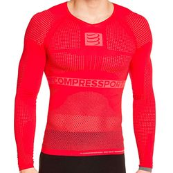 Camisa-de-Compressao-On-Off-Manga-Longa-Vermelha- cc062772f291d
