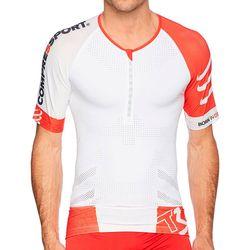 Camisa de Compressão Triathlon TR3 Aero TOP - COMPRESSPORT - Branca -  Unissex 85deac9da834c