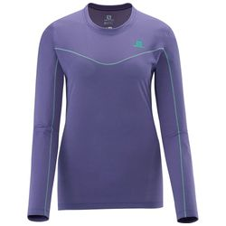 Salomon-Camiseta-Salomon-Stroll-cinza