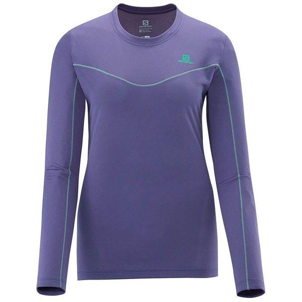 Salomon-Camiseta-Salomon-Stroll-cinza