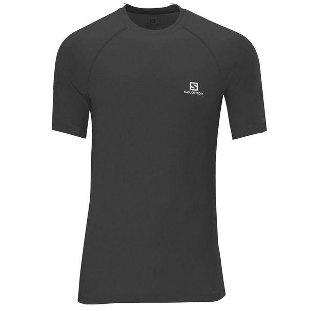 Camiseta-Salomon-Hybrid-Manga-Curta-Masculina-Preta