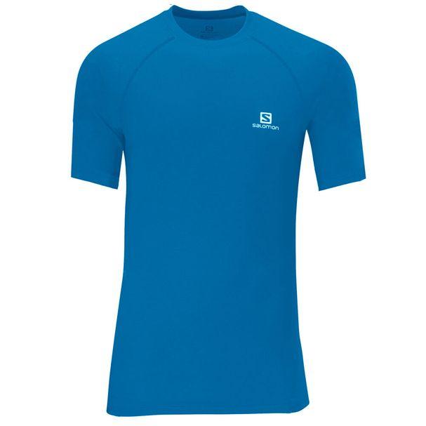 Camiseta-Salomon-Hybrid-Manga-Curta-Masculina-Azul