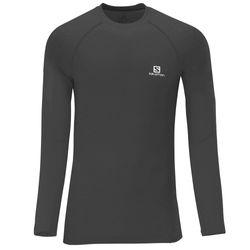 Camiseta-Salomon-Hybrid-Manga-Longa-Masculina-Preta