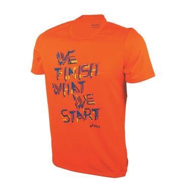 Camiseta-de-Corrida-Masculina-Asics-Training-Laranja