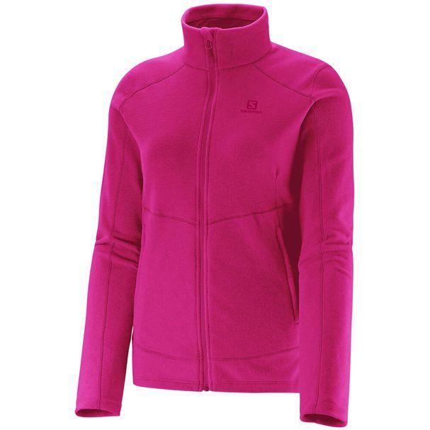 Jaqueta-Fleece-Salomon-Polar-Feminina-Pink