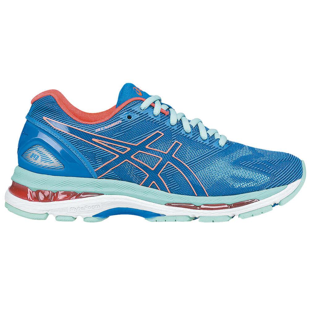 3b828b48745 Tênis Asics GEL-Nimbus 19 Feminino Azul - Keep Running Brasil - Keep Running