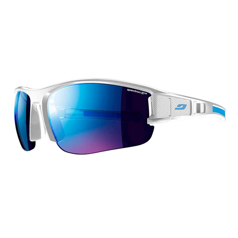 68766e295ec54 Óculos de sol Julbo EOLE Branco   Azul - Keep Running Brasil - Keep Running