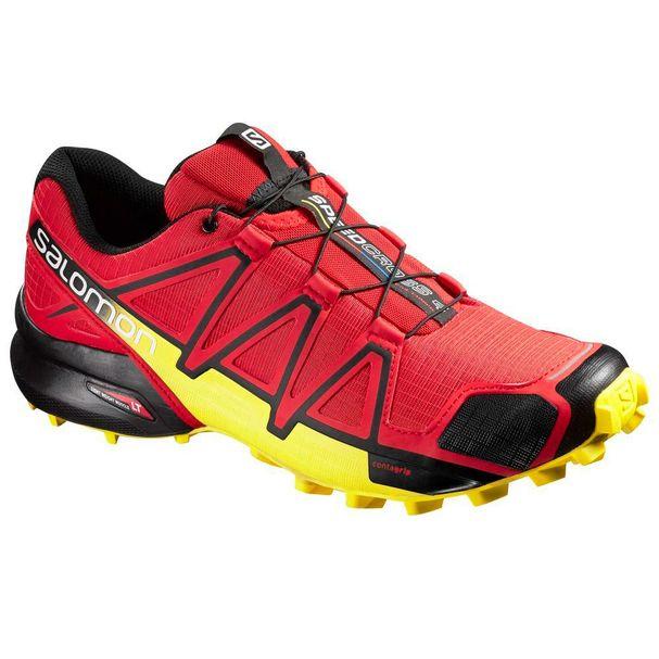 Tenis-SpeedCross-4-Masculino-Vermelho-Amarelo