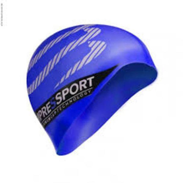 touca-compressport-natacao-azul