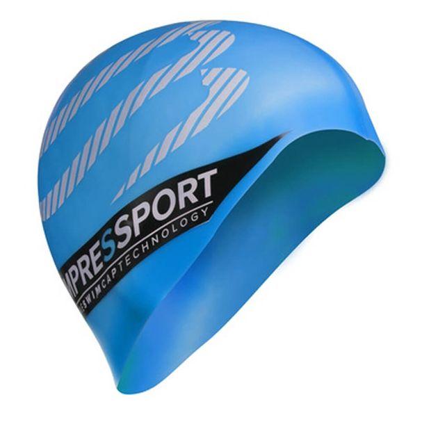 touca-compressport-natacao-azul-Gelo