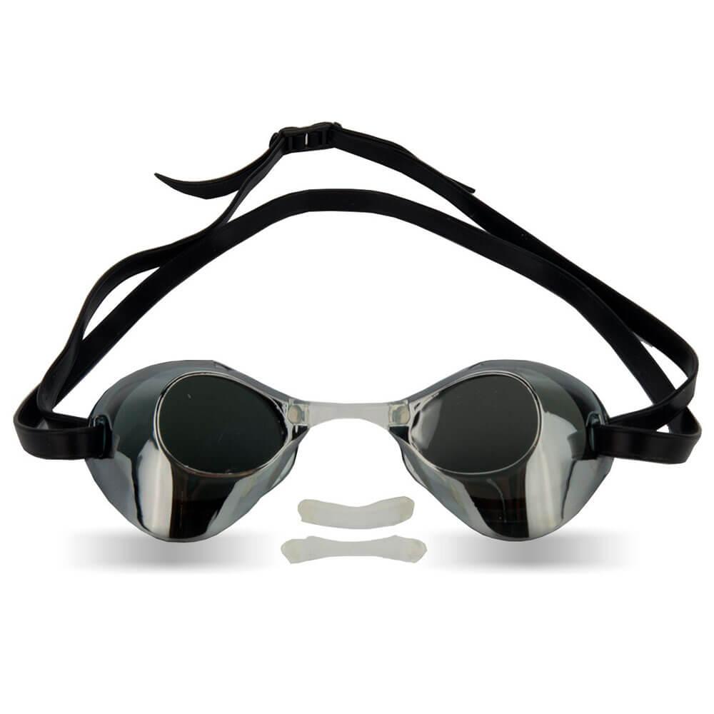f93bd02e3935d Óculos de Natação Mormaii LD200 Preto Espelho - Keep Running