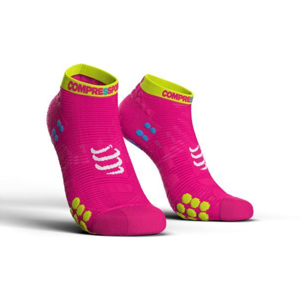 MEIA-ProRacing-Socks-V3.0-Run-Lo-Fluo-Pink-