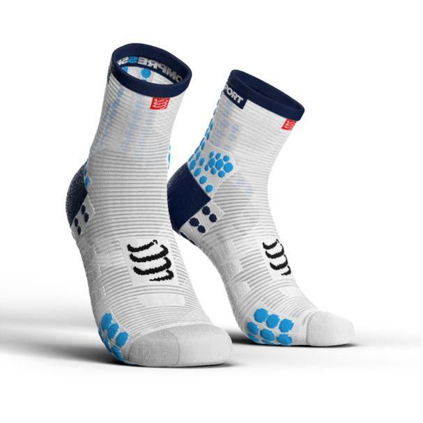 MEIA-ProRacing-Socks-V3.0-Run-Hi-White-Blue-
