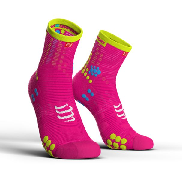 MEIA-ProRacing-Socks-V3.0-Run-Hi-Fluo-Pink-