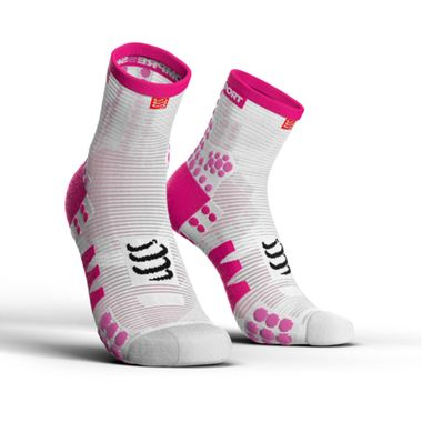 MEIA-ProRacing-Socks-V3.0-Run-Hi-White-Pink