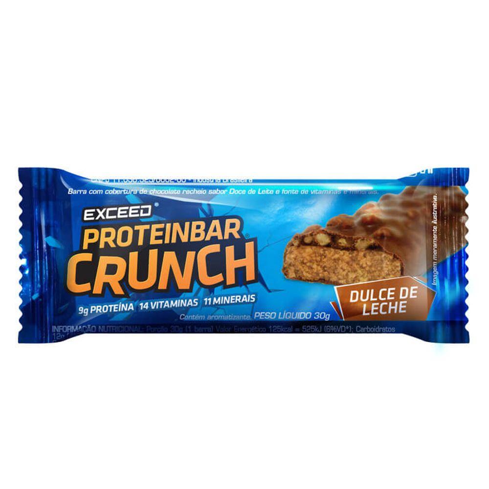 fabd3d76f Exceed ProteinBar Crunch - 1 unidade - Dulce de Leche- Keep Running Brasil  - Keep Running