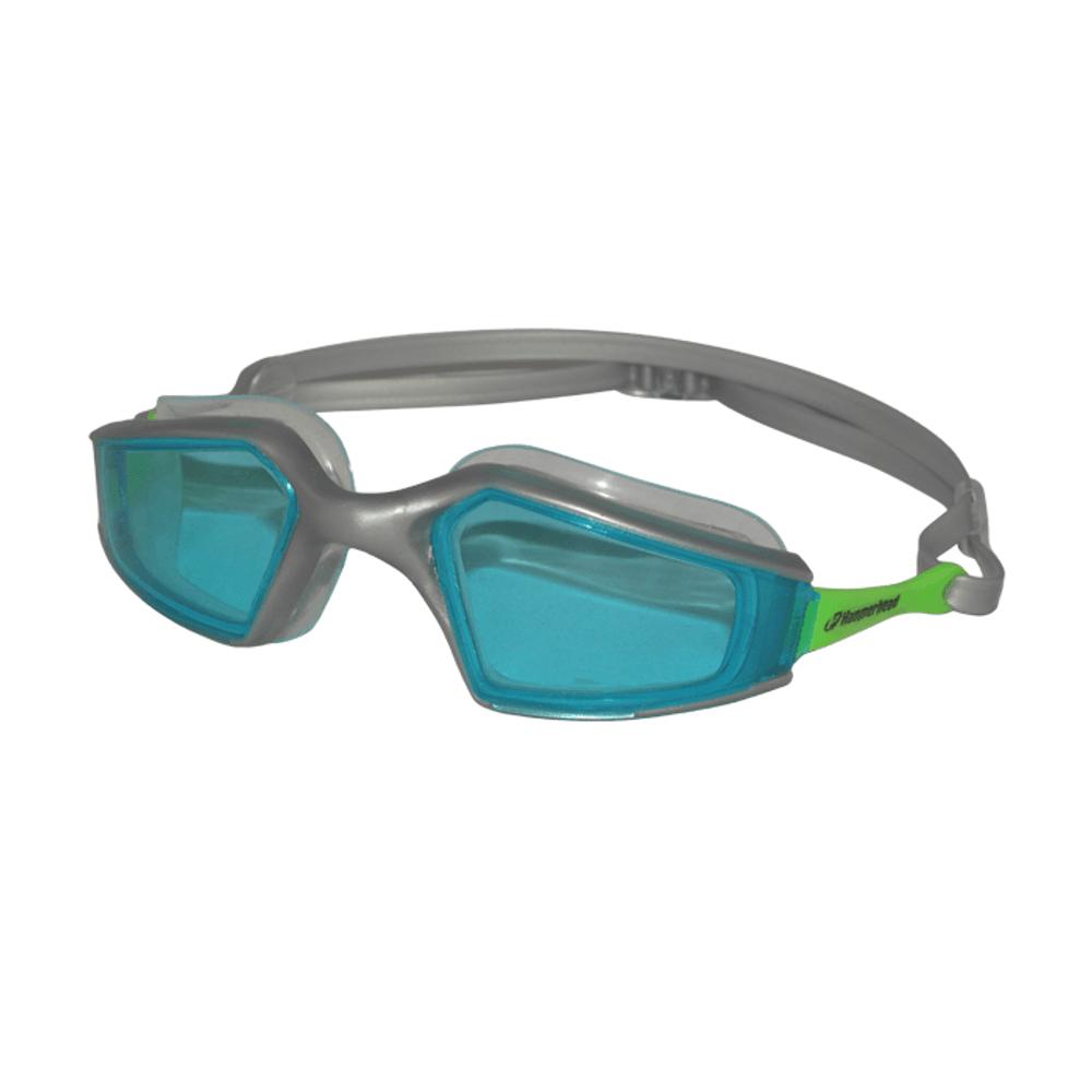 ba5c5ec71 Óculos de Natação HammerHead Nantotech - Azul   Prata   Verde - Keep Runnig  Brasil - Keep Running