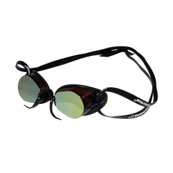 Óculos de Natação HammerHead Swedish Pro Mirror - Espelhado Marrom   Preto d9675da609