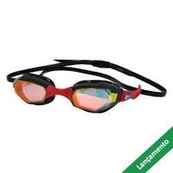 82cd760cf Óculos de Natação HammerHead Solaris Mirror - Revo Espelhado Vermelho    Preto