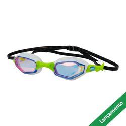 0342dee12 Óculos de Natação HammerHead Solaris Mirror - Revo Espelhado Azul   Branco    Verde
