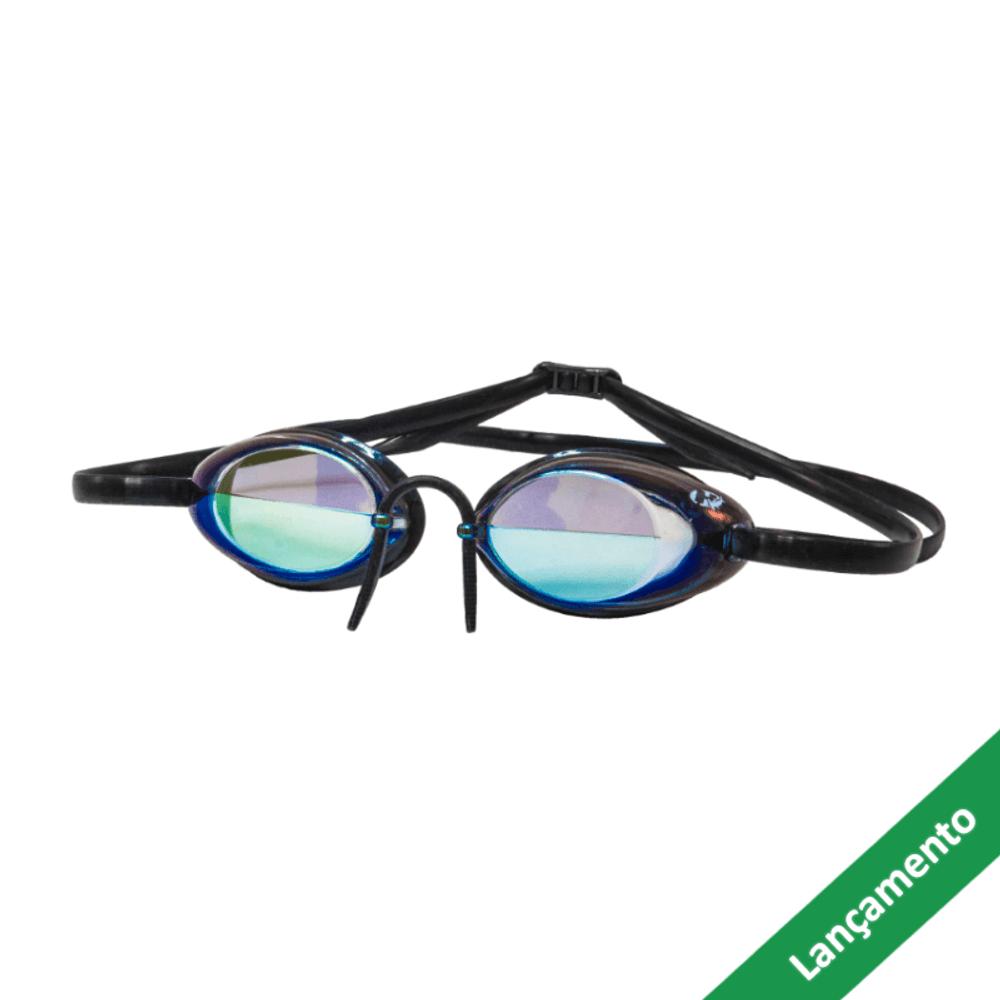 ef292da38 Óculos de Natação HammerHead Hydroflow Mirror - Revo Espelhado Dourado    Preto - Keep Running Brail - Keep Running