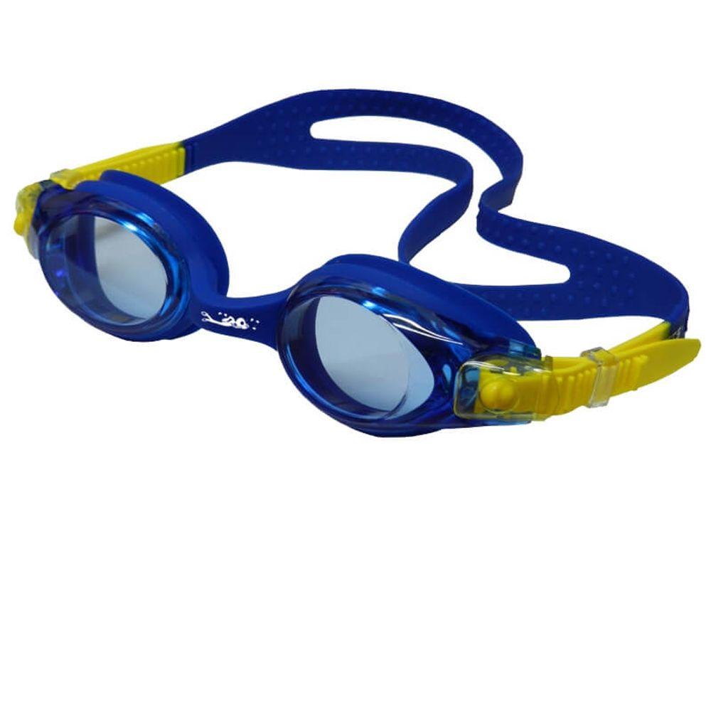 7c453b742 Óculos de Natação HammerHead Flash Jr - Azul / Amarelo - Keep Running  Brasil - Keep Running