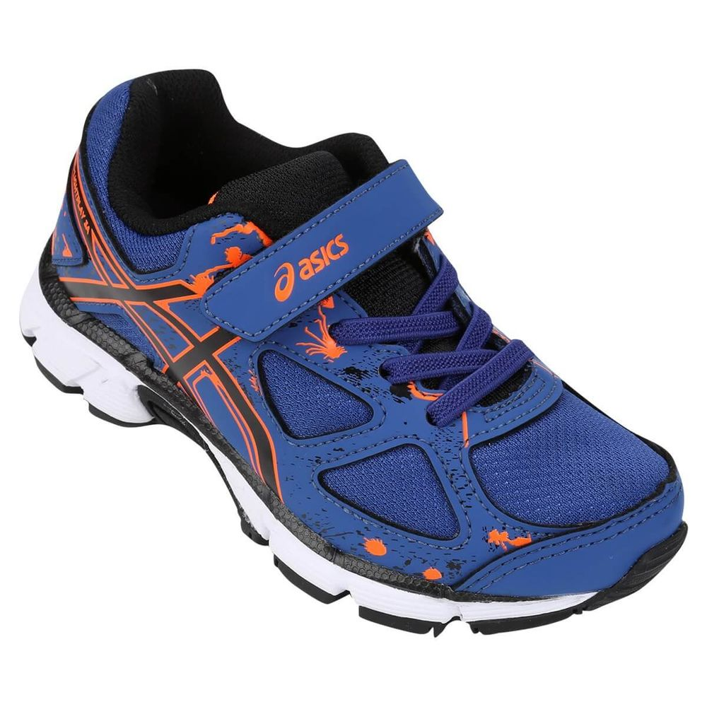 5c92553b7cc Tênis Infantil Asics Gel Light Play 3 Azul   Preto - Keep Running Brasill -  Keep Running