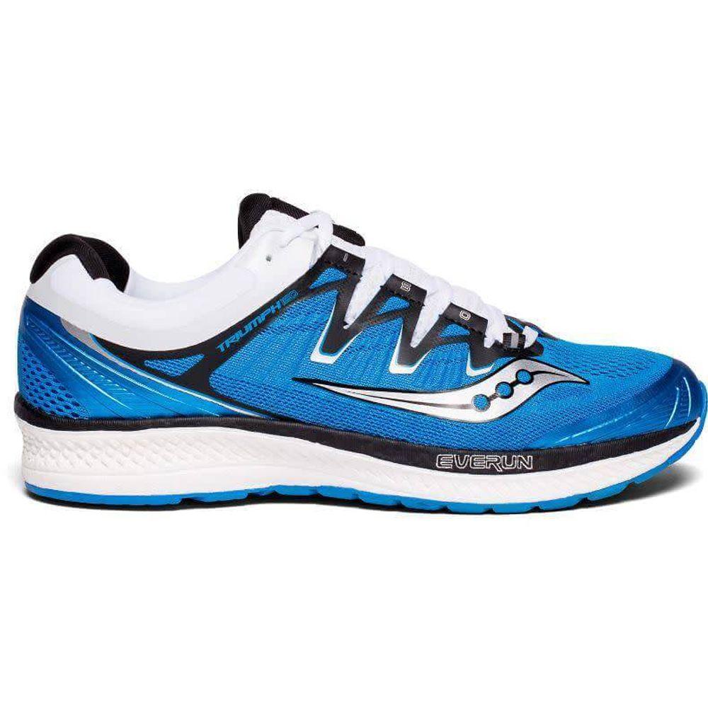 a56e61cb205 Tênis Saucony Triumph ISO4 Masculiino - Azul   Preto   Branco - Keep  Running Brasil - Keep Running