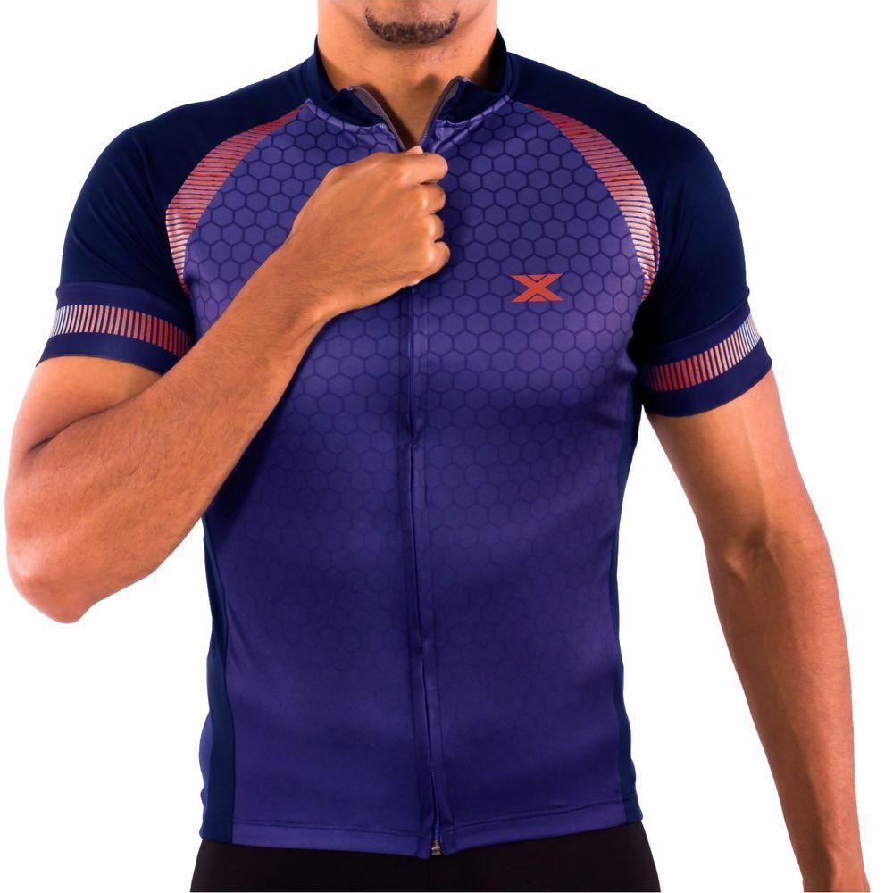 Camisa de Ciclismo Montop DX3 - Masculina - Marinho - Keep Running Brasil -  Keep Running 809dc4faf88cd