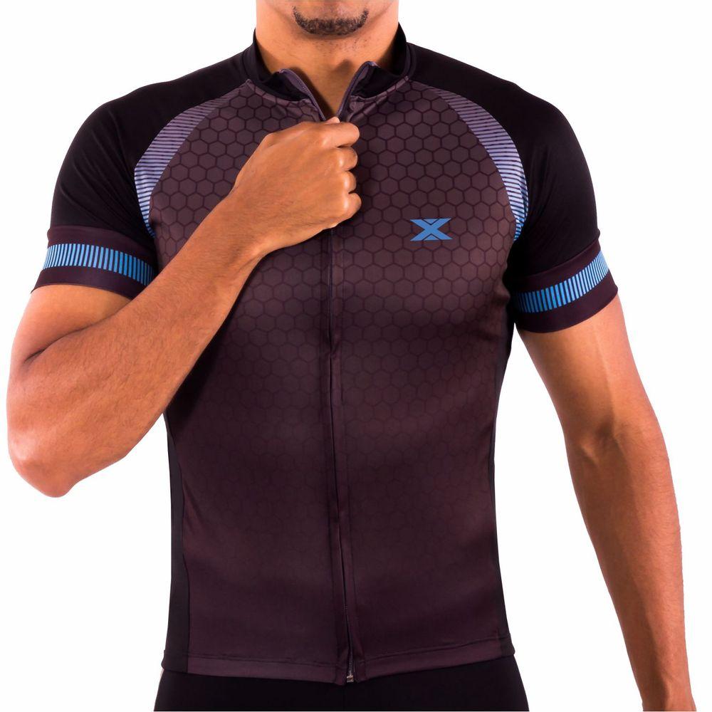 17103dbd67 Camisa de Ciclismo Montop DX3 - Masculina - Preta - Keep Running Brasil -  Keep Running