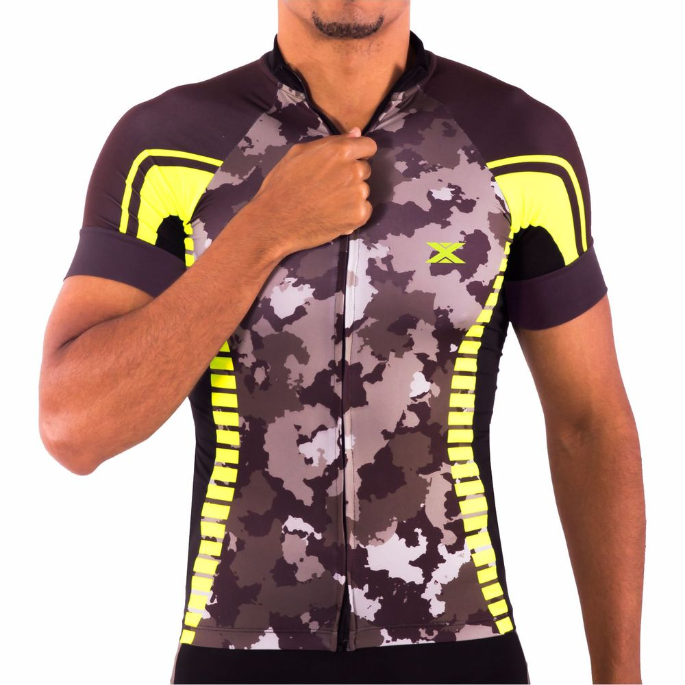 Camisa de Ciclismo Performance DX3 - Masculina - Preto - Keep Running  Brasil - Keep Running 2058410367150