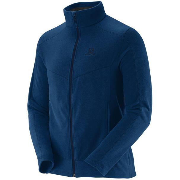Jaqueta-Fleece-Salomon-Polar-Masculina-Azul