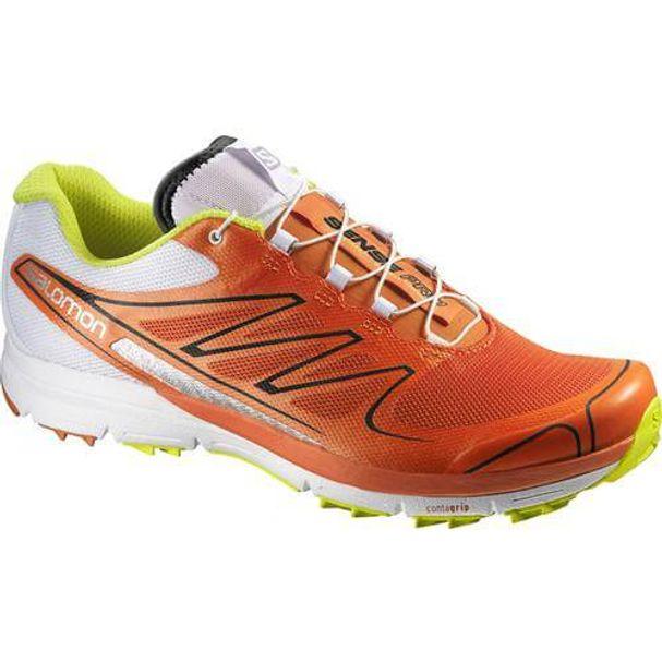 Tênis Salomon Sense Pro Masculino - Vermelho   Branco - Keep Running Brasil  - Keep Running 353d15d3a39