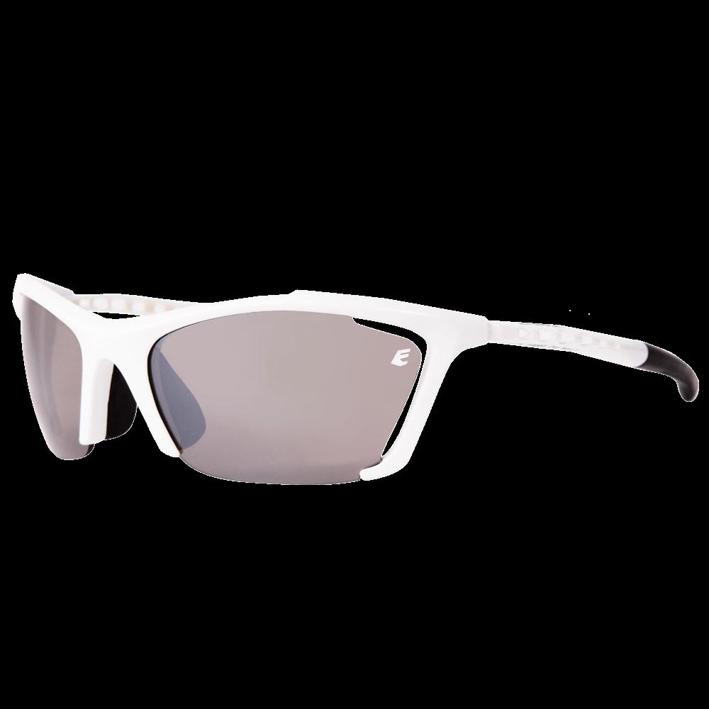fa6b6e8ff Óculos de Sol Eassun Track - Branco Brilhante com Lente Marrom - Keep  Running Brasil - Keep Running