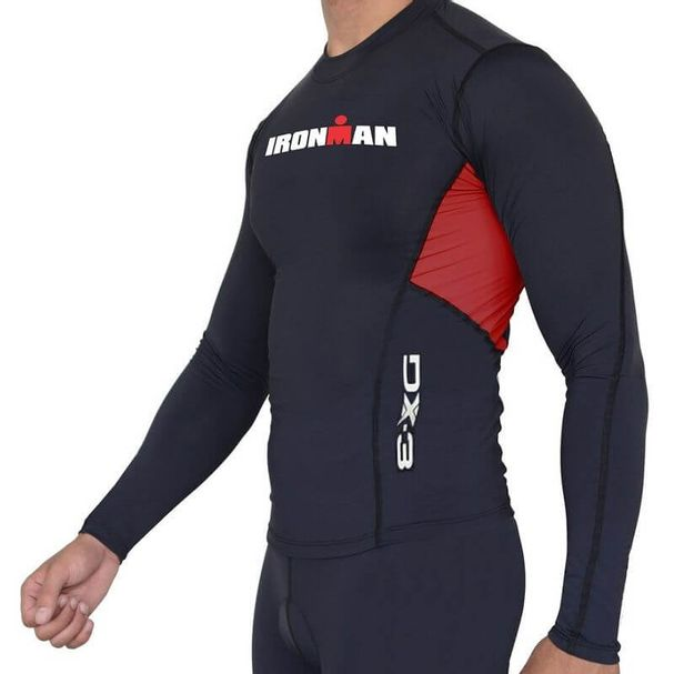 Camisa Manga Longa de Ultra Compressão DX3 X-Pro IRONMAN - Masculino ... 549f6cb7cd116