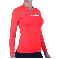 Camisa de Alta Compressão Ed. Especial IronMan Manga Longa Feminina -  Vermelha 562c73debbea1