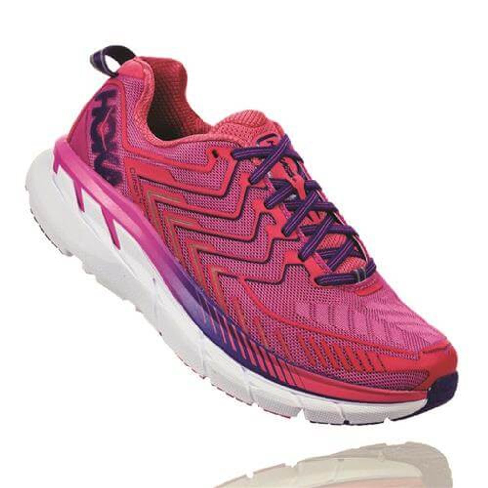 d3f93ab7b Tênis HOKA ONE ONE Clifton 4 Feminino - Rosa   Roxo - Keep Running Brasil - Keep  Running