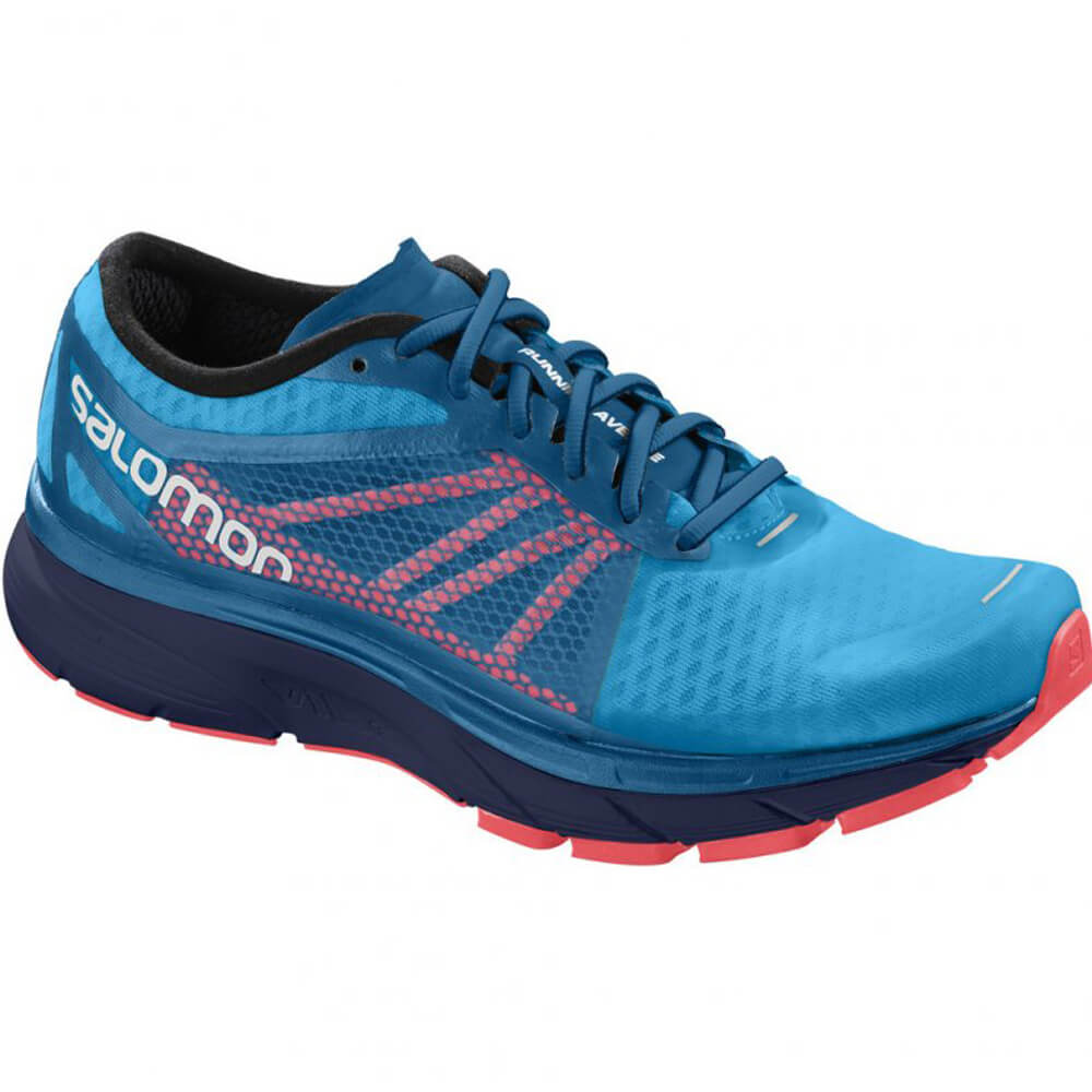 buy online 9232f 2c573 Tênis Salomon Sonic RA Masculino - Azul / Laranja - Keep Running ...