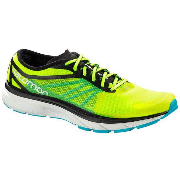 hot sale online 5edd7 a9e21 Tênis Salomon Sonic RA Masculino - Amarelo / Preto - Keep Running Brasil -  Keep Running