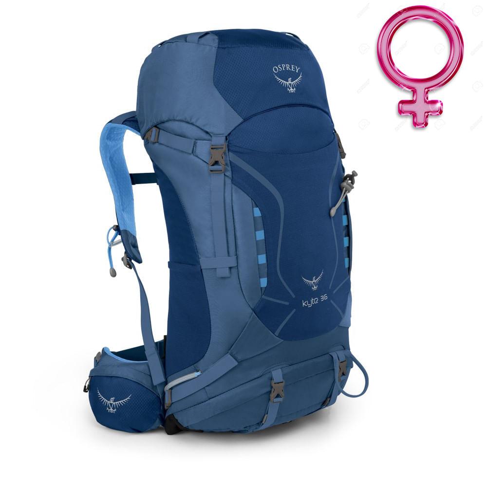5a4faba37 Mochila Feminina Osprey KYTE 36 Azul - Keep Running Brasil - Keep Running