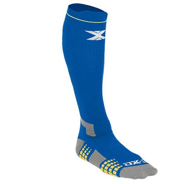 Meia-compressao-dx3-cano-longo-azul